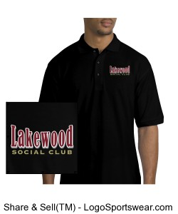 Embroidered - Mens Silk Touch Polo Shirt Design Zoom